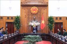 政府总理阮春福会见赴越出席越南人民军建军75周年庆典的各国军队领导人