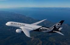 新西兰航空公司开通越南至该国第三大城市克赖斯特彻奇的航线