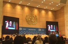 越南出席在日内瓦举行的首届全球难民论坛