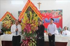 张和平向前江省天主教信教群众致以圣诞祝福