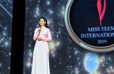 越南选手荣获国际妙龄小姐选美大赛冠军