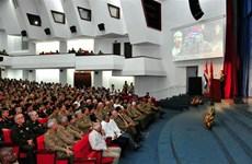 越南人民军建军75周年纪念典礼在古巴首都隆重举行