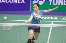 越南羽球选手武氏庄夺得美国图形挑战羽毛球锦标赛冠军
