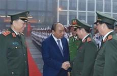 阮春福总理出席全国公安会议