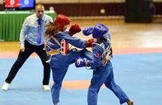第6届世界越武道锦标赛:越南体育代表团夺18金9银1铜