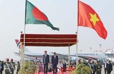 越南与孟加拉国力争双边贸易额达20亿美元的目标