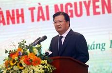 郑廷勇副总理:集中完善土地和环境法律机制