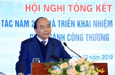 阮春福要求工贸部实现2020年出口额达3000亿美元的目标