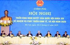 越南政府副总理张和平:齐心协力完成2020年经济社会发展目标任务