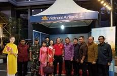 越南在印尼登巴萨街头节推广旅游形象