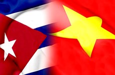 越南国家领导人向古巴领导人致国庆贺电