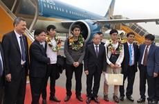 越南航空港总公司迎来2019年第1.15亿名旅客