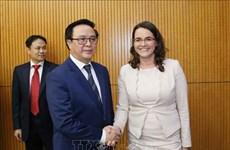 """""""匈牙利公民联盟""""代表团对越南进行访问"""