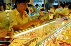 1月3日越南国内黄金价格上涨23万越盾