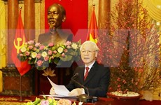 越共中央总书记、国家主席阮富仲:致力于一个繁荣富强的越南的渴望