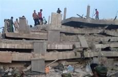 柬埔寨塌楼事故:尚未发现有越裔伤亡