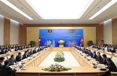 越老双边合作政府间联合委员会第42次会议召开