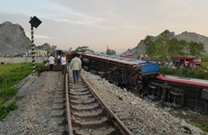 2019年越南铁路交通事故下降