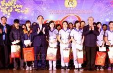 陈国旺和武文赏赴基层开展春节前慰问活动
