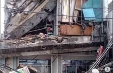 印尼发生地震和5层建筑塌陷事故