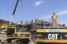柬埔寨白马市7层大楼坍塌事故搜救工作结束