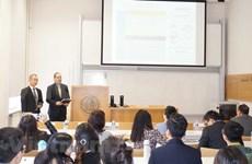 第5次旅捷越南大学生科学研究研讨会在捷克举行