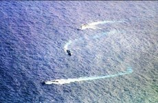 印尼出动数百艘渔船前往纳土纳群岛