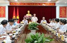 陈国旺要求同奈省加强干部工作坚持民主集中制原则