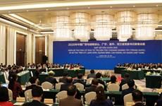2020年越南边境四省与中国广西党委书记新春会晤在柳州举行