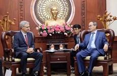 促进胡志明市与法国在各领域的合作