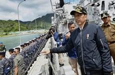 印尼总统佐科赴纳土纳群岛视察以强调印尼对该群岛的主权