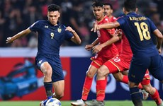 2020年U23亚洲杯:泰国队胜出巴林队 A组领先