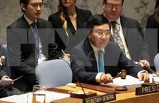 越南与联合国安理会:越南优先遵守联合国宪章、预防性外交   保护人民在冲突和气候变化中的权益