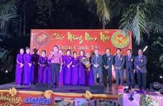 旅居世界各国越南人举行2020庚子春节迎春活动