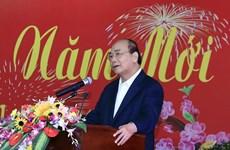 越南政府总理阮春福会见中部地区离退休老干部