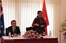 国会副主席丛氏放:党和国家一向重视海外越侨对祖国所作出的贡献