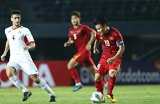 2020年U23亚洲杯: 越南队与约旦队握手言和