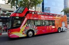 胡志明市观光巴士公交车线路正式投入运营