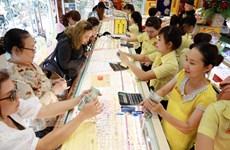 1月14日越南国内黄金价格仍保持在4300万越盾以上