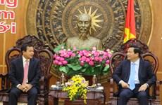 柬埔寨两省领导向隆安省致以新春美好祝福