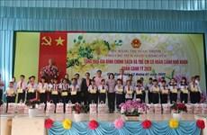 越南领导开展春节前夕走访慰问活动