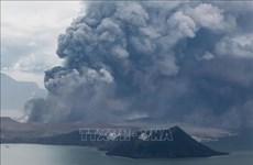 越南外交部提醒公民远离菲律宾塔阿尔火山附近地区