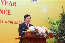 范平明副总理兼外长:继续提升越南的地位和加深与世界各国的关系