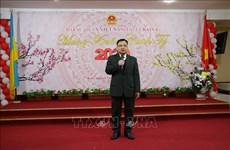 旅外越南人欢聚一堂共迎新春