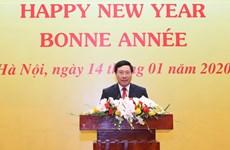 各国驻越外交使团见面会在首都河内举行