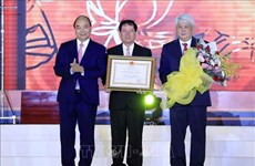 阮春福总理出席茶荣省成立120周年纪念典礼