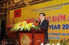 胡志明市市委主要领导会见驻该市外国组织机构代表