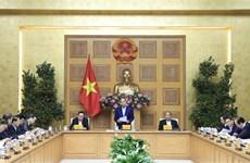 越南政府总理阮春福主持召开越共十三大经济社会小组会议