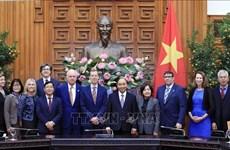 政府总理阮春福会见哈佛大学肯尼迪学院领导