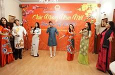 旅外越南人纷纷举行活动喜迎新春佳节